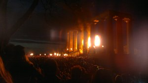 The Fire Festival Opens - Roll On Summer!